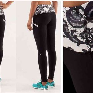 Lululemon Run Toasty Tech Laceoflage Legging 4